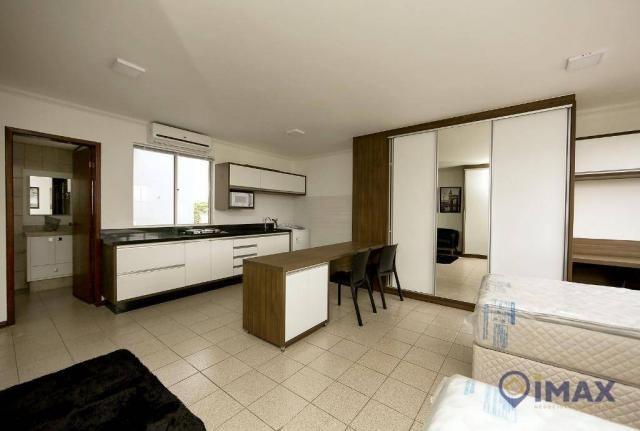 Apartamento com 1 dormitório para alugar, 45 m² por R$ 1.500,00/mês - Centro - Foz do Igua - Foto 4