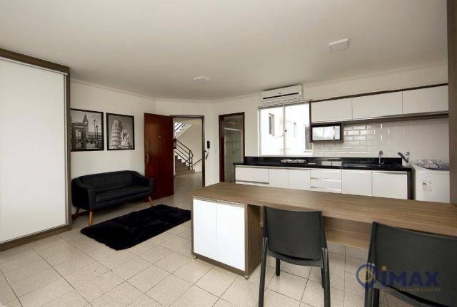 Apartamento com 1 dormitório para alugar, 45 m² por R$ 1.500,00/mês - Centro - Foz do Igua - Foto 11