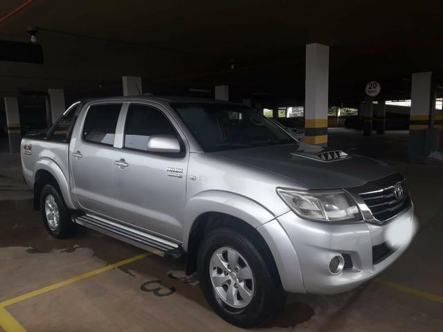 Toyota Hilux CD 4x4 3.0 Prata - Foto 2