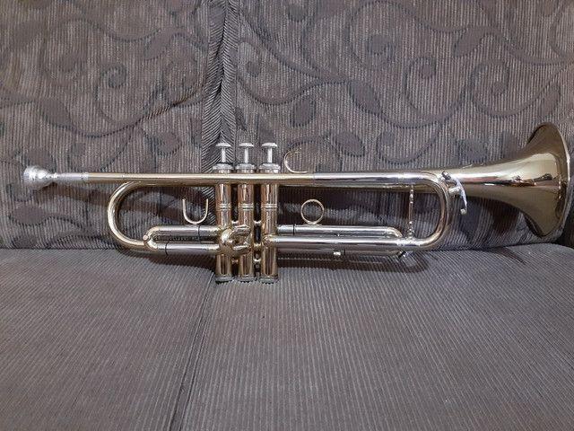 Trompete Eagle Tr 504 nunca foi tocado