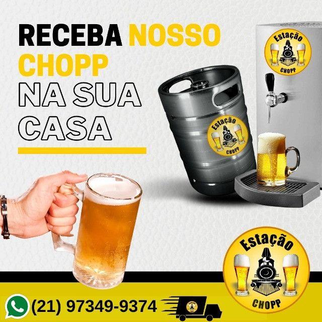 Disk Chopp aluguel de chopeira distribuição de chopp Rio de janeiro - Foto 2