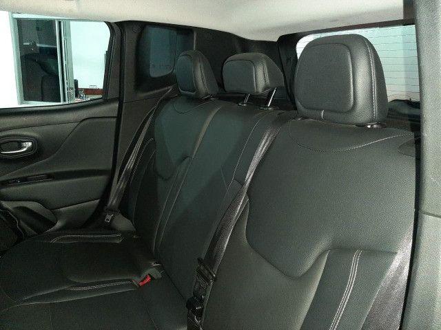 Jeep renegade automática limited 6 marchas banco de couro multimídia único dono 2018 - Foto 19