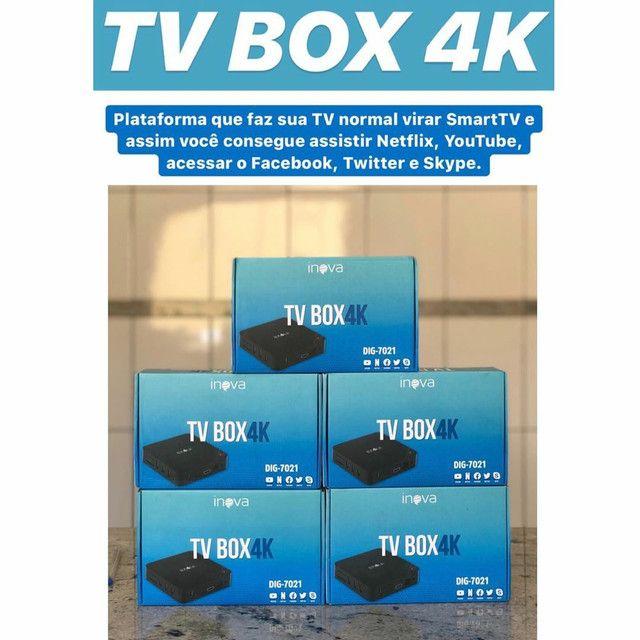 TV Box 4k  inova  - Foto 2