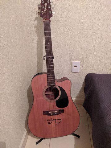 Vendo violão Takamine G series. Parcelo no cartão - Foto 3