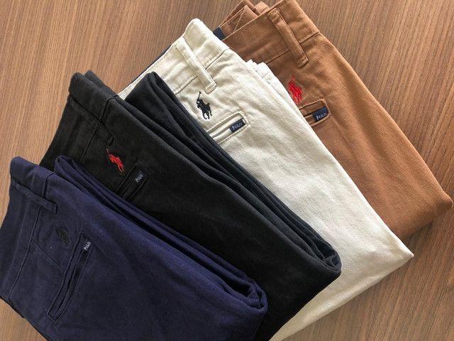 Calças sarja Polo  - Foto 4