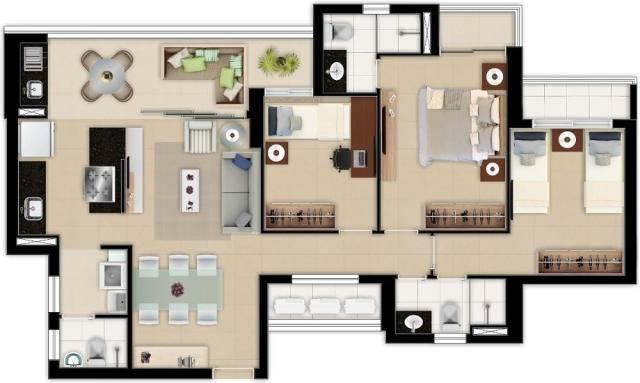 Apartamento à venda com 3 dormitórios em Aldeota, Fortaleza cod:RL4 - Foto 20