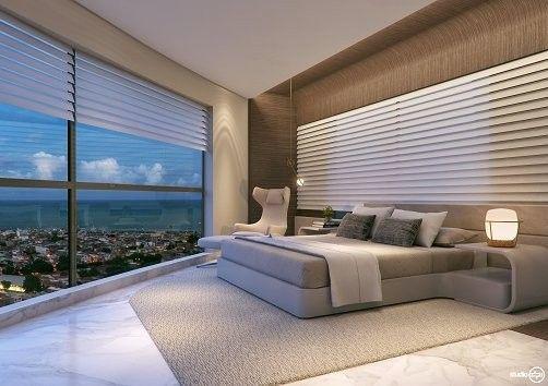 Apartamento para venda possui 269 metros quadrados com 4 suítes no Pina - Recife - PE - Foto 5