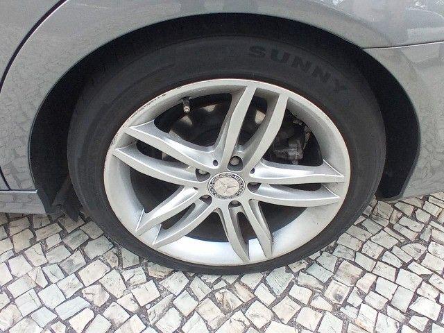 Mercedes Benz c180 2012 cgi(turbo)Blindada n3a+aut/tip+toplinha+couro+absurdamente nova!!! - Foto 10