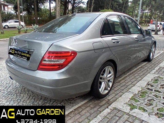 Mercedes Benz c180 2012 cgi(turbo)Blindada n3a+aut/tip+toplinha+couro+absurdamente nova!!! - Foto 4