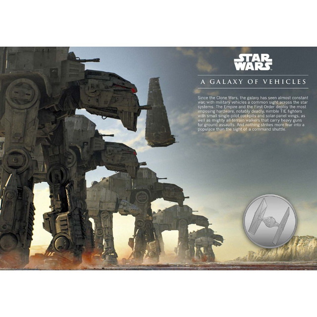 Star Wars: Medalha Uma Galáxia De Veículos Edição Limitada - Foto 4
