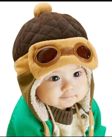 Touca infantil aviador - Foto 2