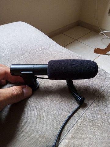 Microfone captador para câmeras/filmadoras/celulares/ notebook - Foto 3