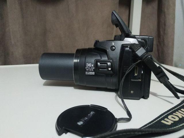 Câmera Nikon Semi-Profissional  - Foto 4