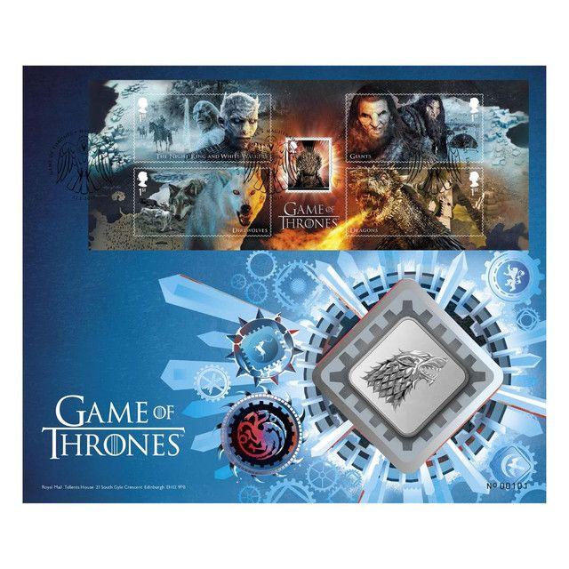 Medalha Game Of Thrones House Stark Edição Limitada - Foto 6