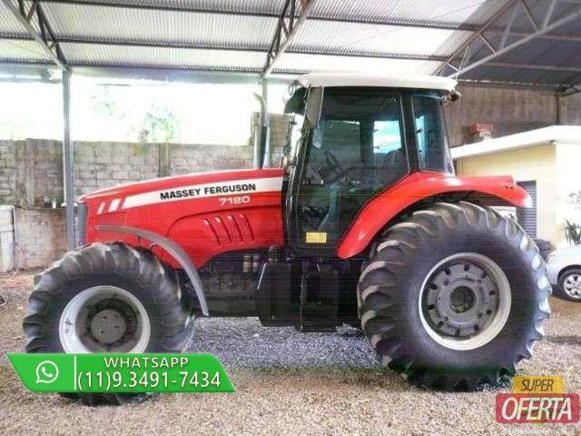 Trator Massey Ferguson 7180 4x4 ano 13 - Foto 4