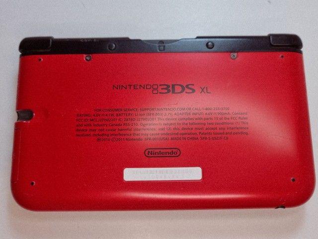 Nintendo 3DS XL + mídia física + 40 mídias digitais - Foto 5