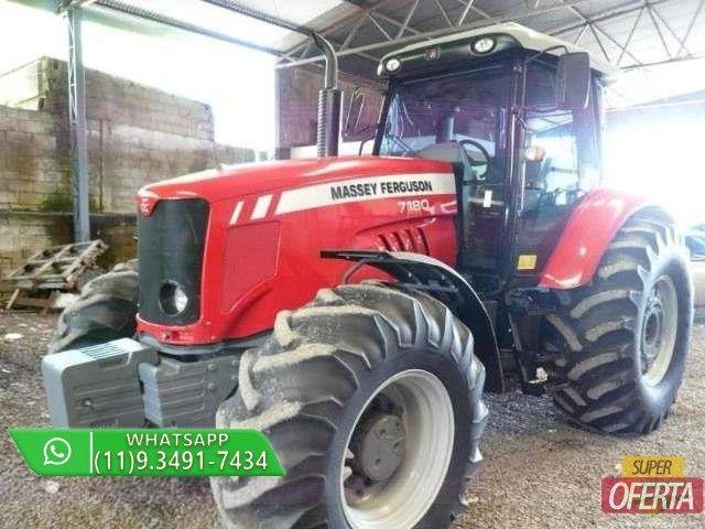 Trator Massey Ferguson 7180 4x4 ano 13 - Foto 2