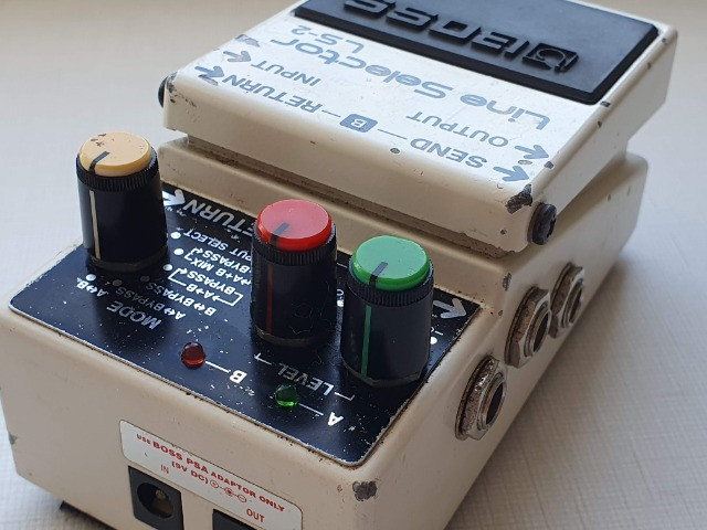 Pedal Pedal Boss Line Selector Ls-2 (loop, Aby, Power Supply) - Foto 4