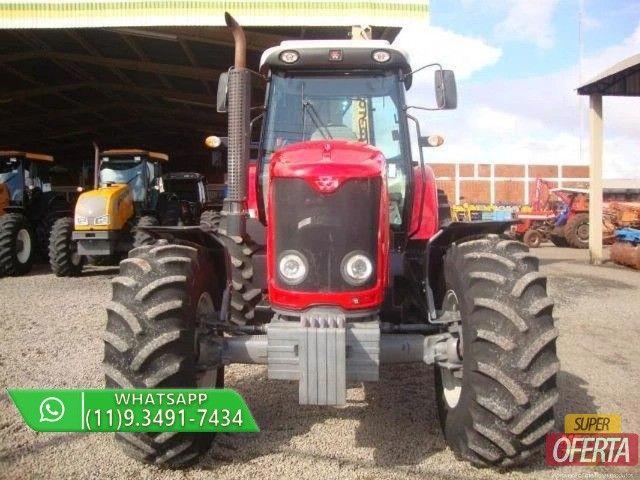 Trator Massey Ferguson 7150 4x4 ano 12 - Foto 2