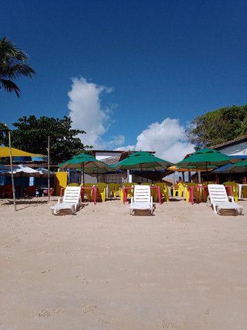 Loja na areia da praia do mutá com espaço extra coberto - Foto 7