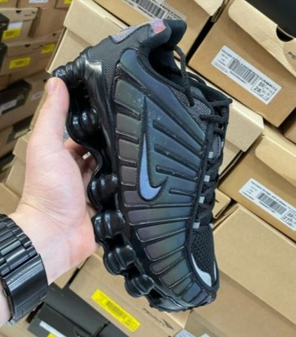 Tênis Nike Shox 12 Molas Camaleão  - Foto 2