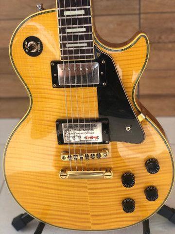 Guitarra Epiphone by Gibson Les Paul CUSTOM - edição limitada - Foto 4