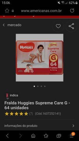 HUGGIES extra-flex 64 Fraldas