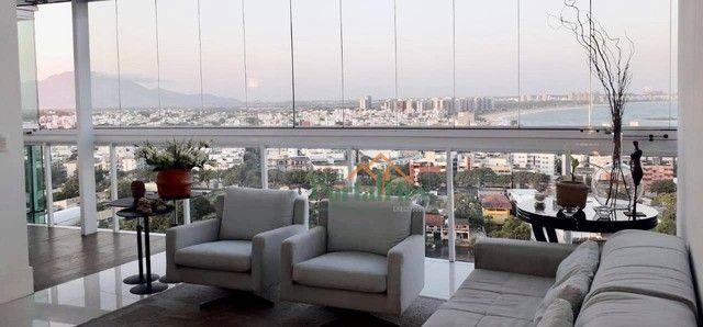 Apartamento com 4 dormitórios à venda, 180 m² por R$ 2.000.000 - Barro Vermelho - Vitória/