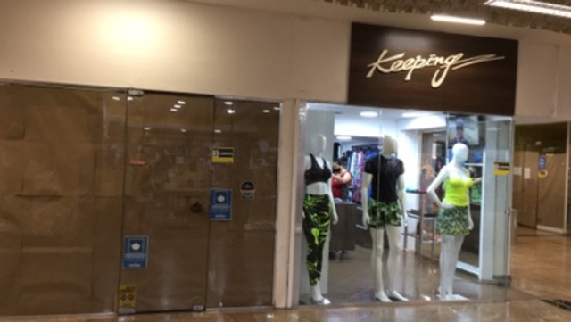 Alugo Loja Shopping Parque Balneário Gonzaga Santos - Foto 13