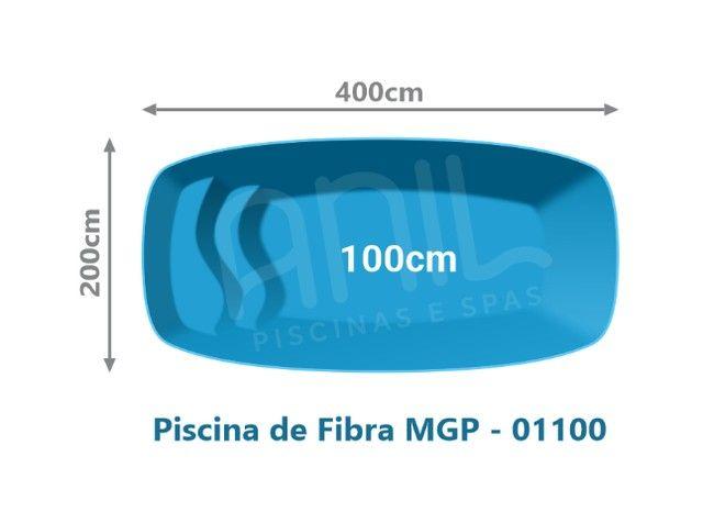 LS- Piscina de 4 metros-Fábrica de Piscinas - Foto 3
