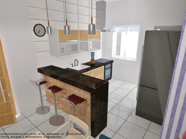 Casa Nova || Pontal Sta Marina Caraguá || 1 Dorm, 1 Suíte || 2 Vagas de Garagem || 195 mil - Foto 11