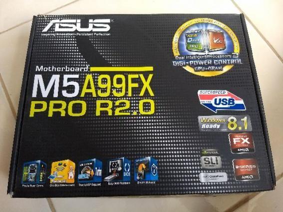 Placa Mae Asus Am3+ Atx M5a99fx Pro R2.0 Ddr3 Sli/croosfire