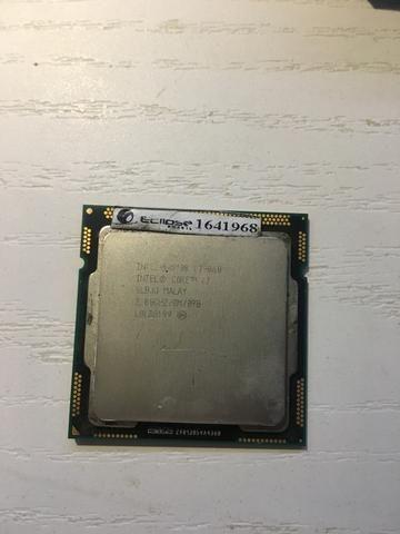 VENDO PROCESSADOR CORE i7 primeira geração creio que esta funcionando!