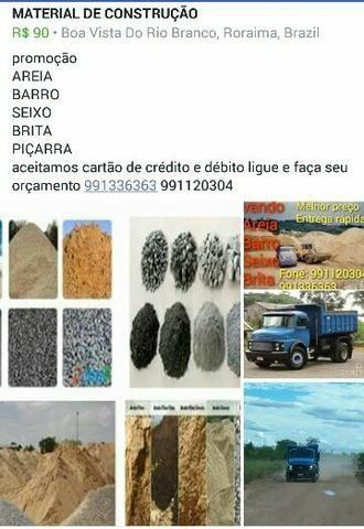 MATERIAL de CONSTRUÇÃO AREIA