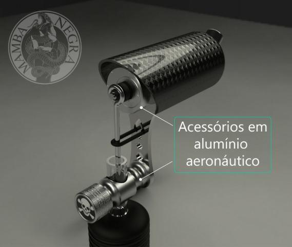 Maquina de Tatuagem Mamba Negra (Máquina NOVA!!) - Foto 4