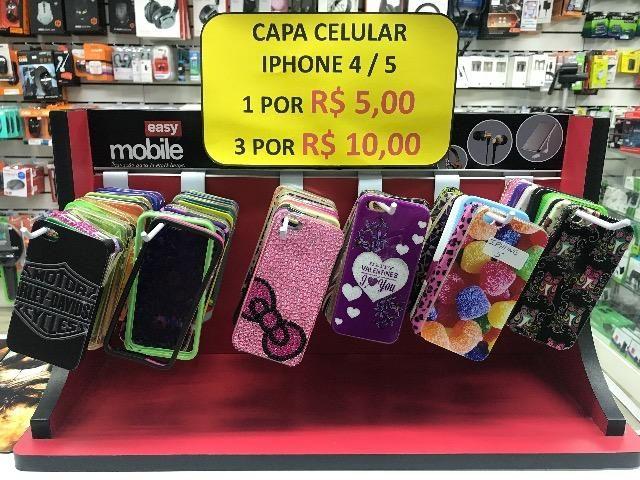 Capa Para Iphone 4 e 5 Promoção