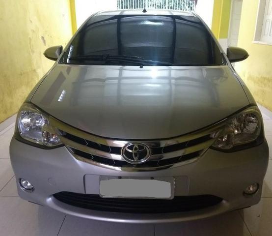O carro mais aprovado do Brasil. Etios Platinum Sedan 1.5 Flex 2014-2015'' - Foto 5