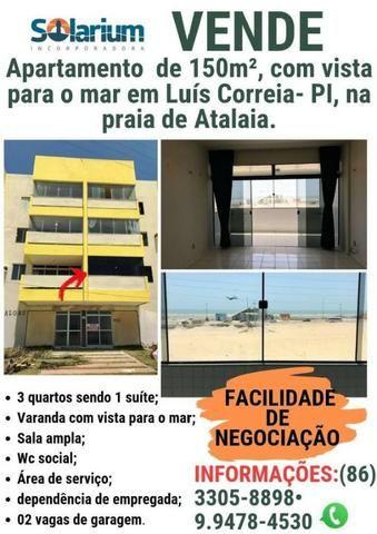 Apartamento com vista para o MAR em Luis Correia/PI