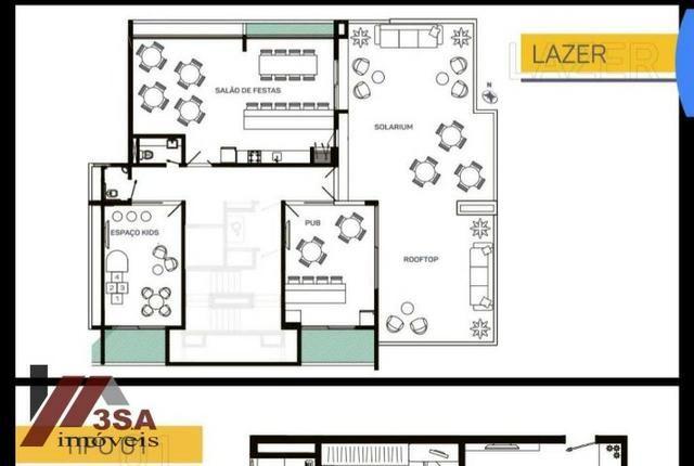 AP0186 Apto com 2 dorm.; 60 m², Bairro São Vicente - Itajaí/SC - Foto 7