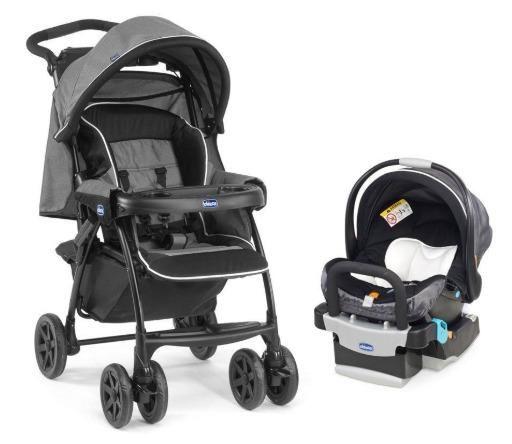 Chicco Carrinho de Bebê Duo Today + Bebê Conforto e Duas Bases - Foto 6