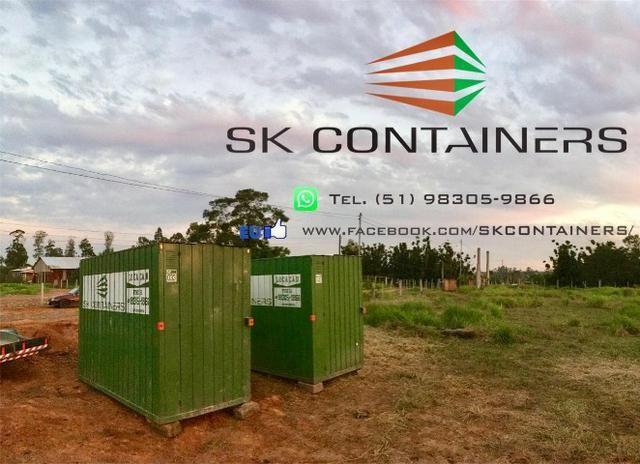 Container para obra, evento, almoxarifado