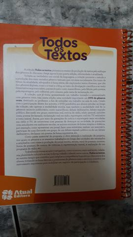 Livro Todos os Textos 6° ano - Foto 2