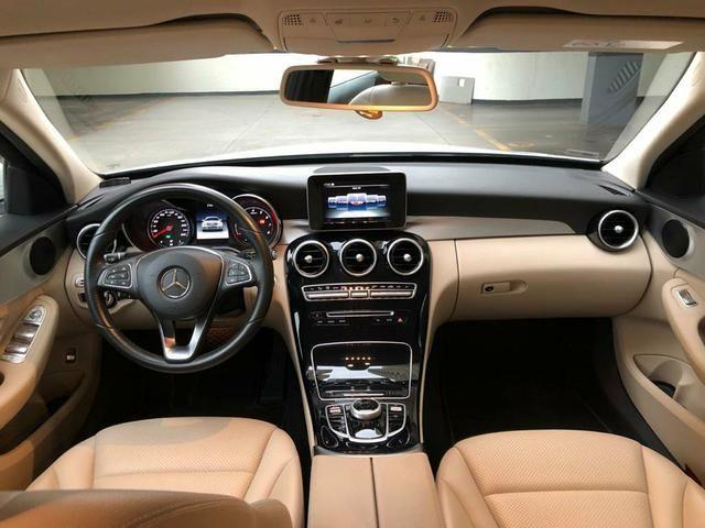 C180 interior Caramelo Carro Extra, Entrada 28.000+ 60x Aceito carro Carta Contemplada - Foto 5