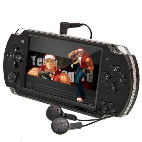 Video Game Pmp Portátil 10mil Jogos Roms Gba Nes Gbc Player Mp3 Mp5 Fm