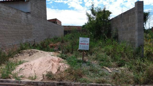 Terreno com 187m² no Parque dos Girassóis em Cosmópolis-SP. (TE0083)