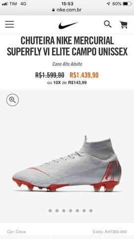Chuteira Nike WR10 Original profissional Tamanho 40 - Esportes e ... 654a7cc22ee99