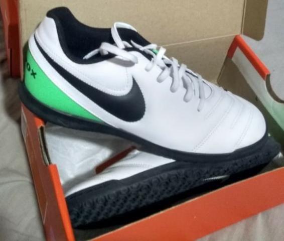Chuteira Nike Tiempo Futsal(salão) 38 e 40 - Roupas e calçados - Cj ... 9d39d2bf3322f