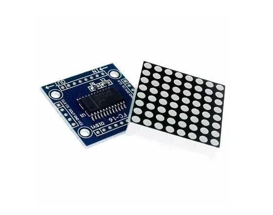 COD-AM135 Módulo Matriz De Leds 8x8 Com Max7219 Arduino Automação Robotica - Foto 2