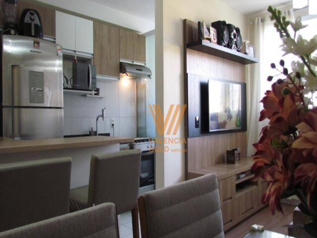 Apartamento com 3 dormitórios à venda, 64 m² por R$ 315.000,00 - Cajuru - Curitiba/PR - Foto 6