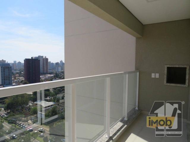Apartamento com 3 dormitórios para alugar, 101 m² por R$ 2.500,00/mês - Residencial Omoiru - Foto 2